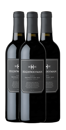 Highwayman Proprietary Red Vertical 3 Pack