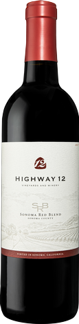 2017 Highway 12 Sonoma Red Blend